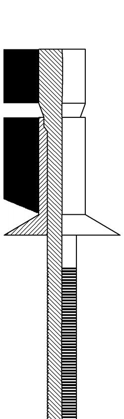 Strukturalne M-link z kołnierzem stożkowym