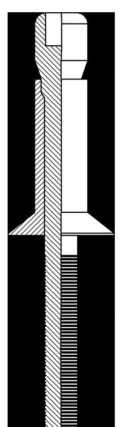 Strukturalne P-link z kołnierzem stożkowym